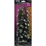 Людвигия черно-белая 30см, растение пластиковое перламутровое Marina®