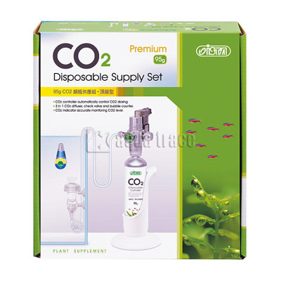 Ista CO2 Disposable Supply Set Premium - система CO2 с одноразовым баллоном 95гр
