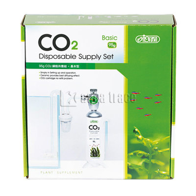 Ista CO2 Disposable Supply Set Basic - система CO2 с одноразовым баллоном 95гр