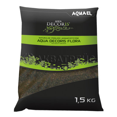 Aquael Aqua Decoris Flora, грунт для растений (1,5кг)